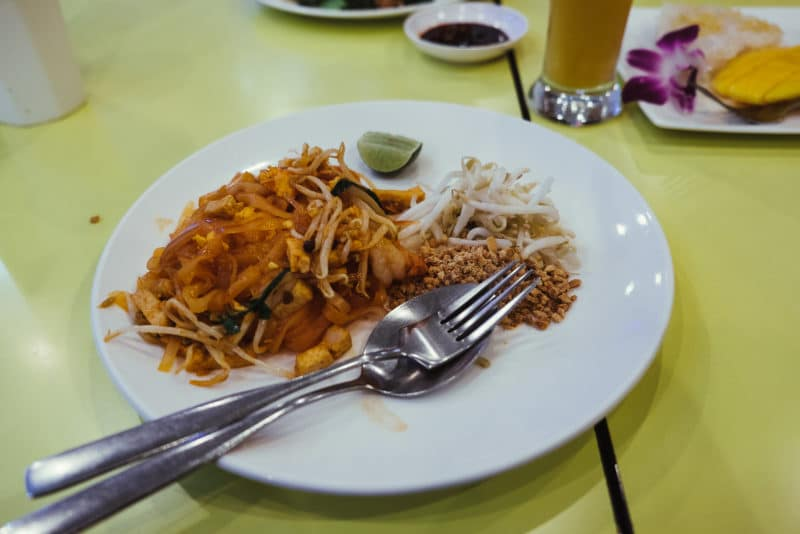 Pad Thai at the airport