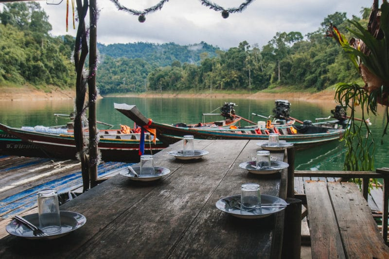Khao Sok – Dinner time