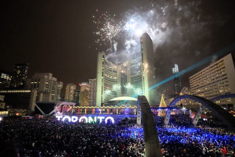 Toronto Happy New Year 2016