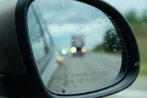 Drive test in Ontario - mirror