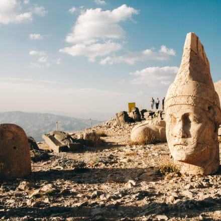 Sunrise on Mount Nemrut, Turkey